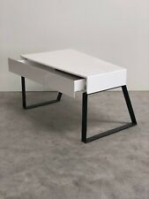 BRAND NEW DESIGNER WHITE GLOSS WITH DRAWER HOME OFFICE COFFEE TABLE (217)