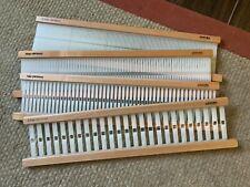 """ashford knitter's loom 20"""" reed bundle (2.5, 5, 10 and 12.5 dpi 00003Af4 )."""