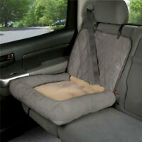 PetSafe Solvit Small Car Cuddler Seat Cover for Pets Grey