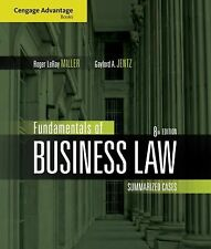 Cengage Advantage Books: Fundamentals of Business Law: Summarized Cases by Mill
