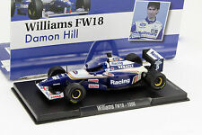 Damon Hill Williams FW18 #5 Champion du monde Formule 1 1996 1:43 Altaya