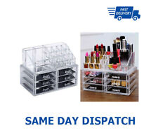 6 Schublade Klar Acryl Kosmetik Make-Up Schmuck Organizer Storage Halter Box