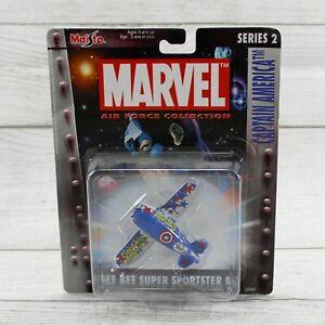 Maisto Marvel Captain America Cee Bee Super Sportster R-1 Die Cast Airplane