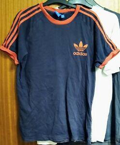 👀 Bargain Bundle Mens T-shirts 2x Adidas 1x G-Star Raw Size Medium VGC 😎