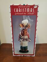 SIKORA Serie E Christmas Wood Incense Burner Smoker Figure Oven with Cat Teapot