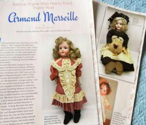 7p History Article + Pics - Antique Armand Marseille Bisque Dolls & Construction