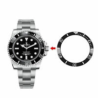 Click Spring Ceramic Watch Bezel Inset Ring 38mm for 40mm Watch Changeable