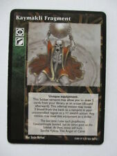 Kaymakli Fragment VTES Promo card Vampire the Eternal Struggle ccg tcg trading