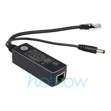 Gigabit Active PoE Splitter Power Over Ethernet 48V to 12V 1A-2A 10/100/1000Mbps