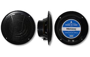 "5"" Full Range Marine Audio Speaker VX-150BX BLACK Boat Spa Hot Tub RV -PAIR-NEW"