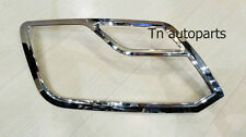 CHROME HEAD LAMP FRONT TRIM COVER LH +RH  FOR VOLKSWAGEN AMAROK PICK UP 2011-ON