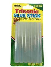 Glue Sticks 12 Pack Clear 11mm 1/4 X 4 Inch Trisonic TS-F232 Free Shipping