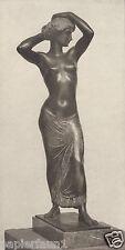 Olympia Kunstdruck von 1916 Fritz Klimsch Freiburg GDK Gottbegnadetenliste Akt