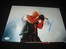 JSA Vince NEIL Signed MOTLEY CRUE 11x14 Photo