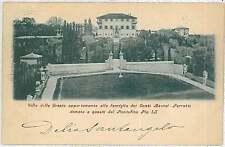 CARTOLINA d'Epoca ANCONA provincia : SENIGALLIA - VILLA DELLE GRAZIE 1900