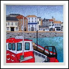 Falmouth Harbour - Cornwall - Cross Stitch Kit - Emma Louise Art Stitch