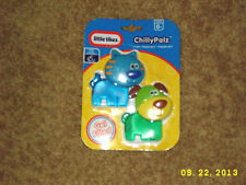 LITTLE TIKES 2 PC CAT AND DOG BABY TEETHERS blue and green for boys