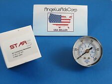 Medical Dental Air Compressor Manometer Round STAR5