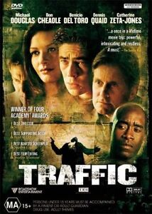 Traffic DVD (Region 2, 2001) with booklet, FREE POST