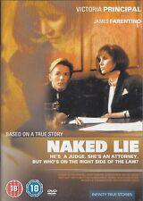 NAKED LIE - Victoria Principal, James Farentino (DVD07)