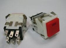 3pc Push Button 3V Led 120V-250V DPDT Latching Switch,RLKD2