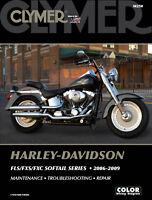 Harley Davidson Softail Fat Boy Heritage 2006-2009 Clymer Manual M250 NEW