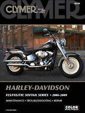 Harley Davidson FLSTF FLSTFI Fat Boy Screamin' Eagle 2006-09 Clymer Manual M250