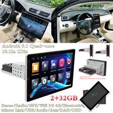 Android 8.1 10.1In 1Din Pantalla Giratoria Radio estéreo de coche GPS WIFI 3G 4G BT DAB