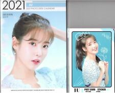 IU Calendar Year 2021 & 2022 + Post Card Set KPOP 01