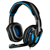 E-books S42 Stereo Gaming Over-Ear Headphones Headsets with Mic / 3.5mm Cable