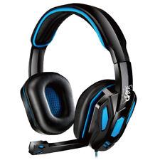 Libros electrónicos S42 Estéreo Auriculares Sobre las Orejas Auriculares para juegos con Micrófono/Cable 3.5 mm