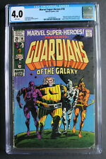 MARVEL SUPER-HEROES #18 ORIGIN 1st GUARDIANS of the GALAXY 1969 Movies CGC 4.0