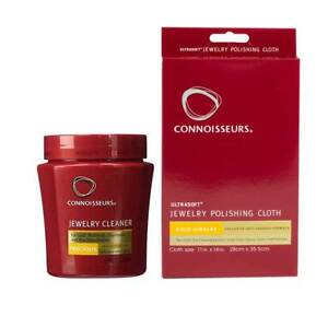 Connoisseurs Gold Jewellery cleaning dip and jewellery polishing cloth