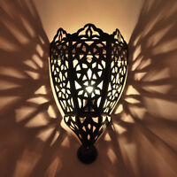 "Orientalische wandlampe Lampe MAROKKO Orient aus Eisen ""Taji"""