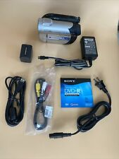 New Listing🔥 Sony Dcr-Dvd108 Dvd Handycam Camcorder 40x Optical Zoom Zeiss Lens + Bundle