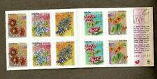 2001 South Africa Flowers SG 1295/04 MUH Set 10 Booklet