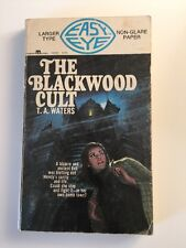 The Blackwood Cult T.A. Waters 1968 vintage Paperback