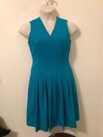 Calvin Klein Sleevless Teal Dress size 6