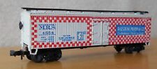 N scale 40' boxcar MRS Ralston Purina freight car red checkered