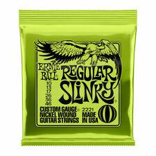 Ernie Ball 2221 Regular Slinky 10-46 Nickel Wound Set