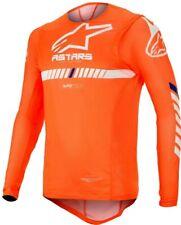 2020 Alpinestars Supertech Flo Naranja Blanco Motocross Mx raza Jersey Adulto