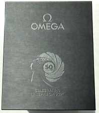 OMEGA JAMES BOND 50TH ANNIVERSARY Seamaster 300M Watch 007 Limited Edition