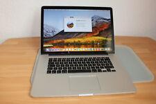 "Apple MacBook Pro Retina 15"" i7 2,8Ghz 16GB 256GB SSD Iris 1536 R9 M370X 2015 Bj"