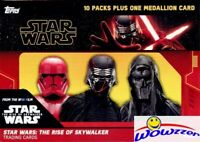 2019 Topps Star Wars The Rise of Skywalker Factory Sealed Blaster Box-MEDALLION