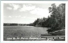 RPPC  ELY, Minnesota  MN   Lake Gegoka  NATIONAL FOREST LODGE   Postcard