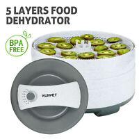 450W 5 Tray Electric Food Dryer Dehydrator Machine Fruit Beef Vegetable Jerky