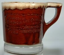 WESTERN STONEWARE CO FARMERS MUTUAL INSURANCE CO OF IOWA ADVERTISING COFFEE MUG