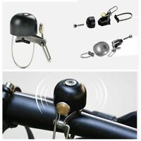 Cycling Bike Handlebar Ring Stainless Steel Safety Horn Classical Bell.