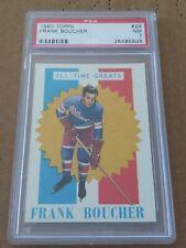 1960-61 Topps #29 Frank Boucher Rangers ATG NRMT PSA 7