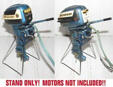 Display Stand Evinrude Toy Outboard Motors 1950s K&O Big Twin